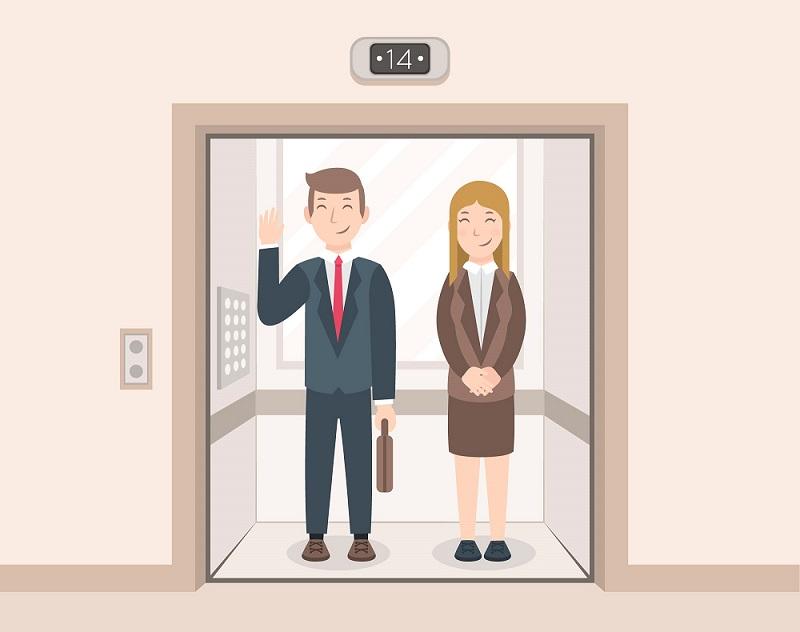 Qual a probabilidade de um elevador cair