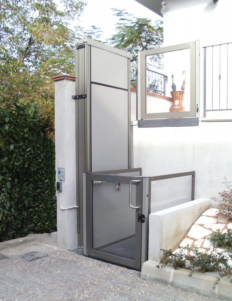 plataforma elevatoria acessibilidade externa